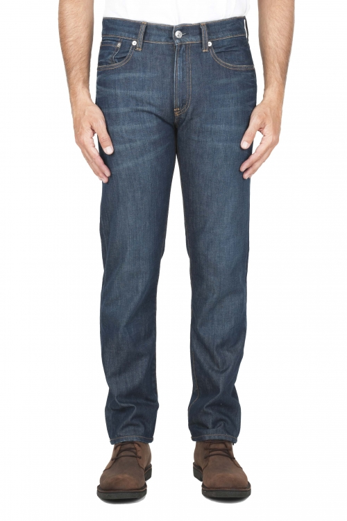 SBU 03110_2020AW blu jeans stone washed in cotone organico 01