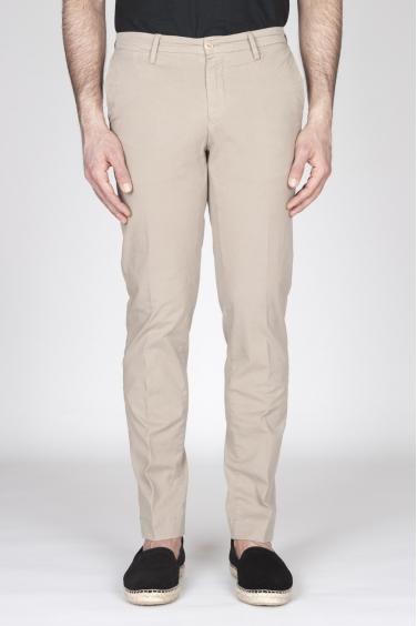 SBU - Strategic Business Unit - Pantaloni Chino Regular Fit Classici In Cotone Stretch Beige