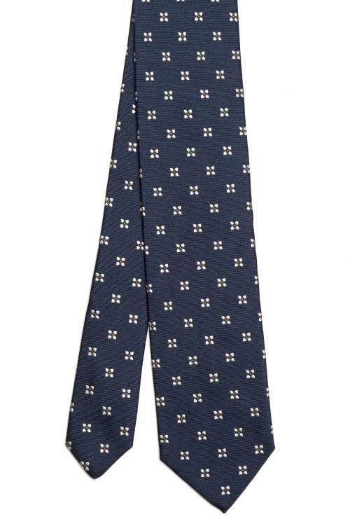 SBU 03142_2020AW Cravatta classica in seta realizzata a mano 01