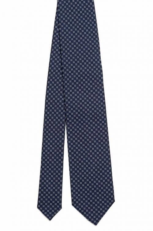 SBU 03144_2020AW Classic handmade pointed tie in silk 01