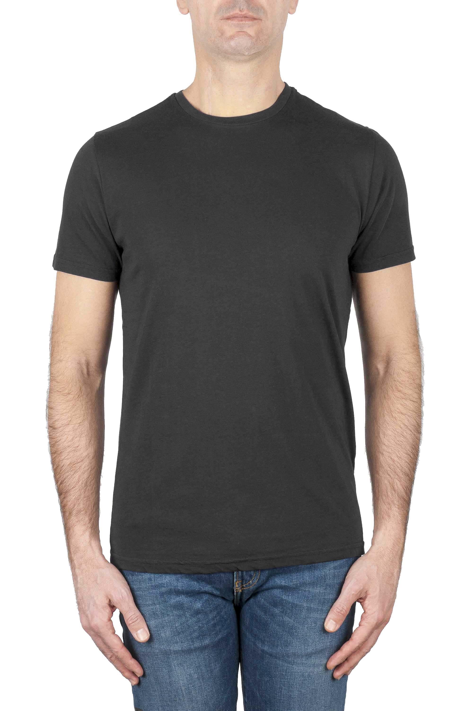 SBU 03147_2020AW Classic short sleeve cotton round neck t-shirt grey 01