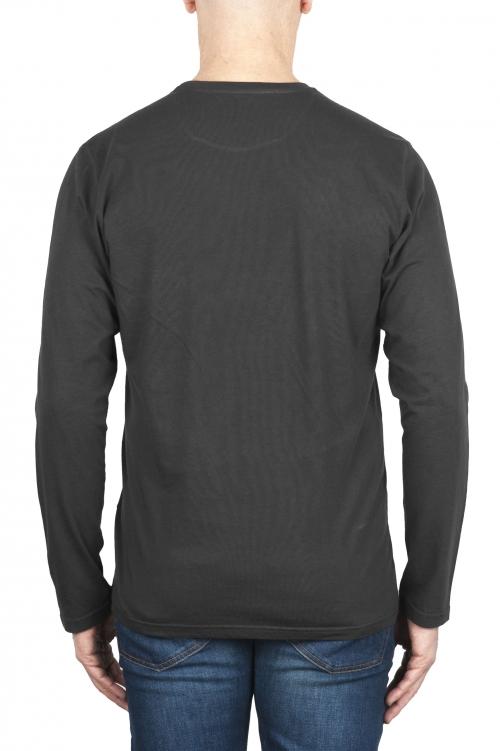 SBU 03150_2020AW コットンジャージークラシック長袖Tシャツグレー 01
