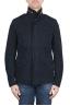 SBU 03151_2021SS Stone washed blue cotton field jacket 01