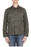 SBU 03157_2021SS Unlined multi-pocketed jacket in green cotton 01