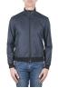 SBU 03164_2021SS Windbreaker bomber jacket in blue ultra-lightweight nylon 01