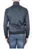 SBU 03164_2021SS Windbreaker bomber jacket in blue ultra-lightweight nylon 06