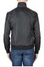 SBU 03166_2021SS Windbreaker bomber jacket in black ultra-lightweight nylon 04