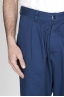SBU - Strategic Business Unit - Pantaloni Da Lavoro 2 Pinces Giapponesi In Cotone Blue Navy