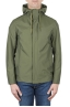 SBU 03170_2021SS Technical waterproof hooded windbreaker jacket green 01