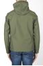 SBU 03170_2021SS Technical waterproof hooded windbreaker jacket green 05
