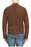 SBU 03172_2021SS Brown suede leather jacket 05