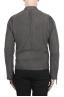 SBU 03174_2021SS Grey suede leather jacket 05