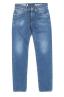 SBU 03205_2021SS Stone washed indigo dyed cotton jeans 06