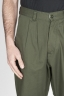 SBU - Strategic Business Unit - Japanese 2 Pinces Work Pants In Green Cotton