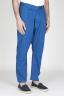 Pantaloni Da Lavoro 2 Pinces Giapponesi In Cotone Blue