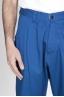 SBU - Strategic Business Unit - Japanese 2 Pinces Work Pants In Blue Cotton