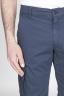 SBU - Strategic Business Unit - Classic Regular Fit Cargo Shorts In Blue Stretch Cotton