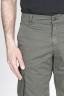 SBU - Strategic Business Unit - Bermuda Cargo Shorts In Cotone Elasticizzato Verde Militare