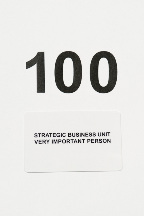Tarjeta regalo Strategic Business Unit 100