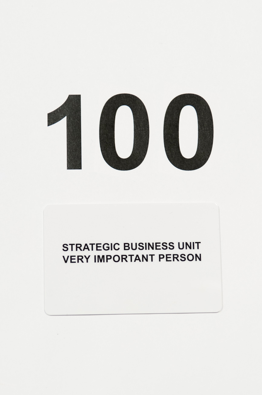 ギフトカードStrategic Business Unit 100