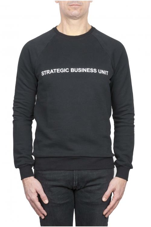 SBU 01467_2021SS Strategic Business Unitロゴプリントクルーネックスウェットシャツ 01