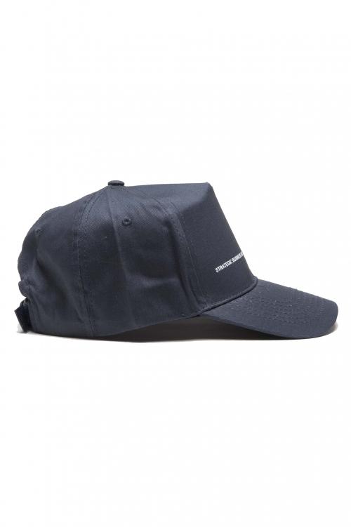 SBU 01187_2021SS Clásica gorra azul de beisbol con visera 01