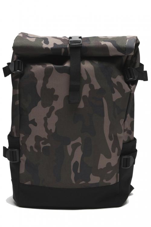 SBU 01804_2021SS Sac à dos cycliste camouflage imperméable 01