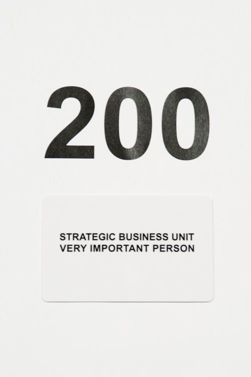 Tarjeta regalo Strategic Business Unit 200