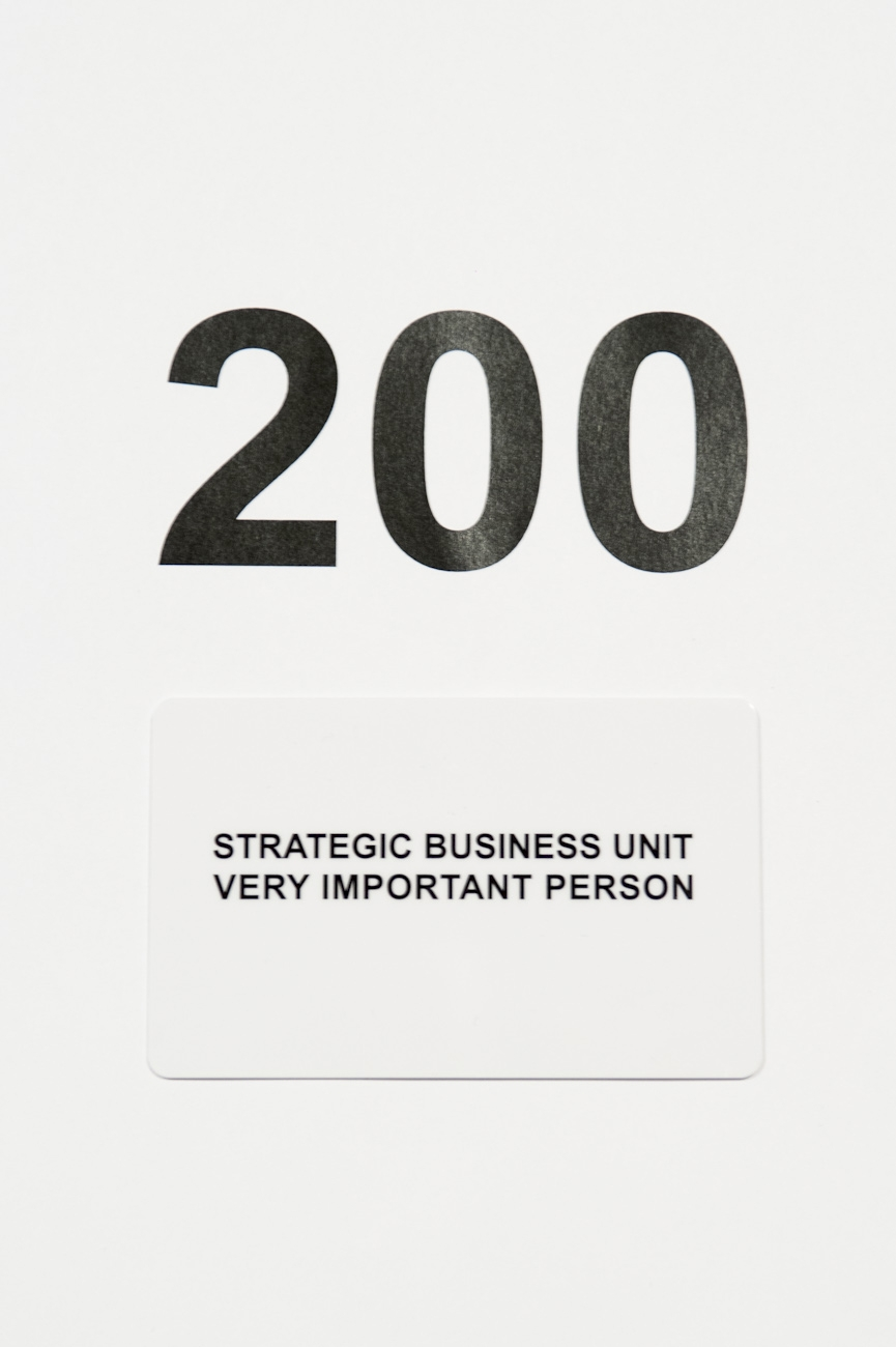 Tarjeta regalo Strategic Business Unit 200