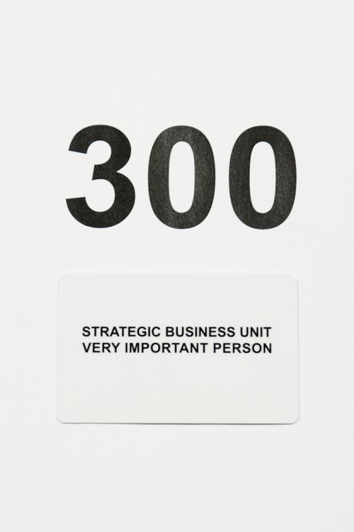 ギフトカードStrategic Business Unit 300