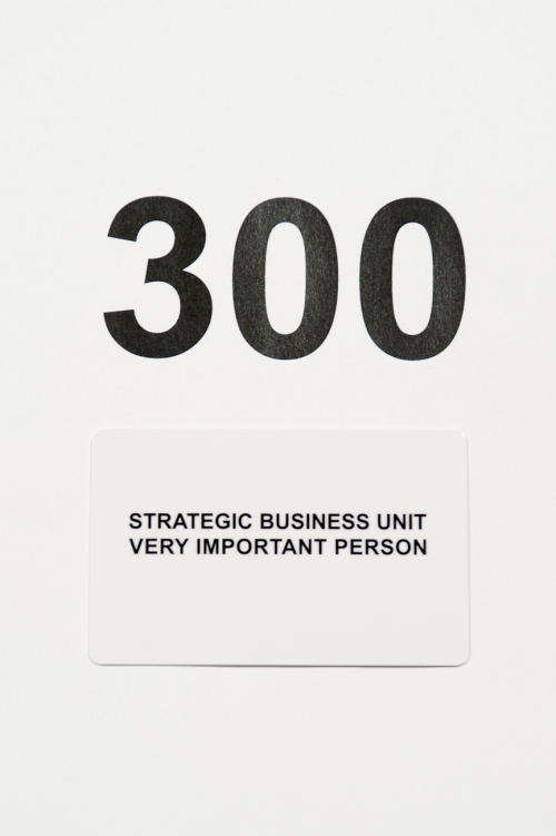 Carte cadeau Strategic Business Unit 300