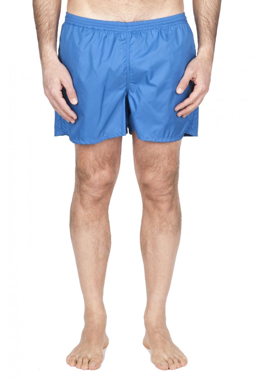 SBU 01751_2021SS Tactical swimsuit trunks in blue ultra-lightweight nylon 01