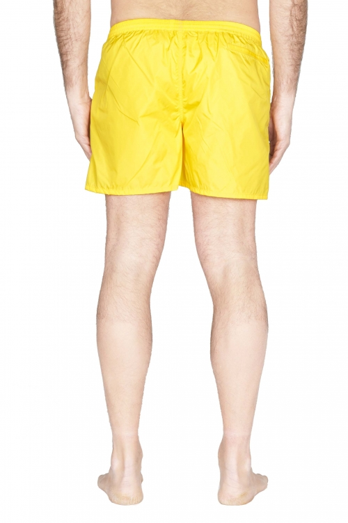 SBU 01752_2021SS Costume pantaloncino classico in nylon ultra leggero giallo 01