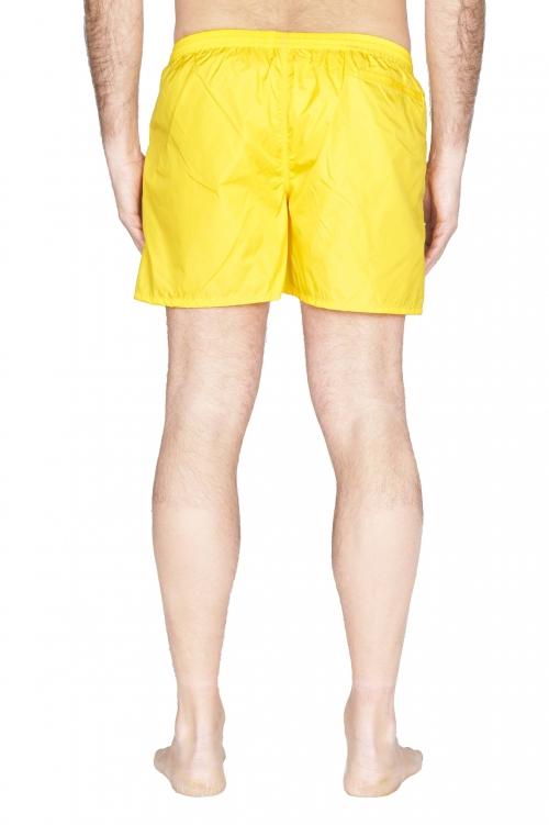 SBU 01752_2021SS Tactical swimsuit trunks in yellow ultra-lightweight nylon 01