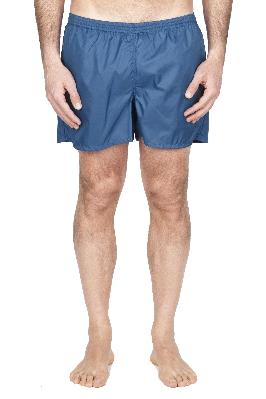SBU 01754_2021SS Tactical swimsuit trunks in blue ultra-lightweight nylon 01