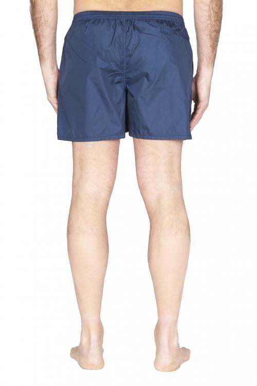 SBU 01758_2021SS Costume pantaloncino classico in nylon ultra leggero blu navy 01