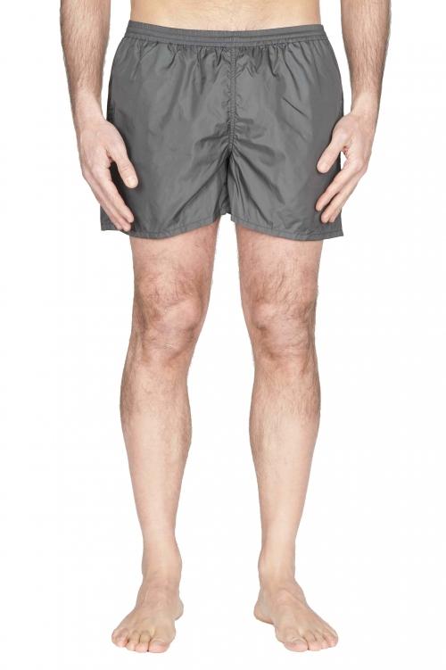 SBU 01761_2021SS Costume pantaloncino classico in nylon ultra leggero grigio 01
