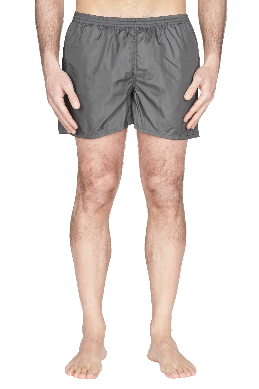 SBU 01761_2021SS Tactical swimsuit trunks in grey ultra-lightweight nylon 01