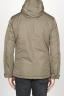 SBU 00901 Technical waterproof padded short parka jacket green 04
