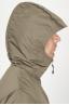 SBU 00901 Technical waterproof padded short parka jacket green 05