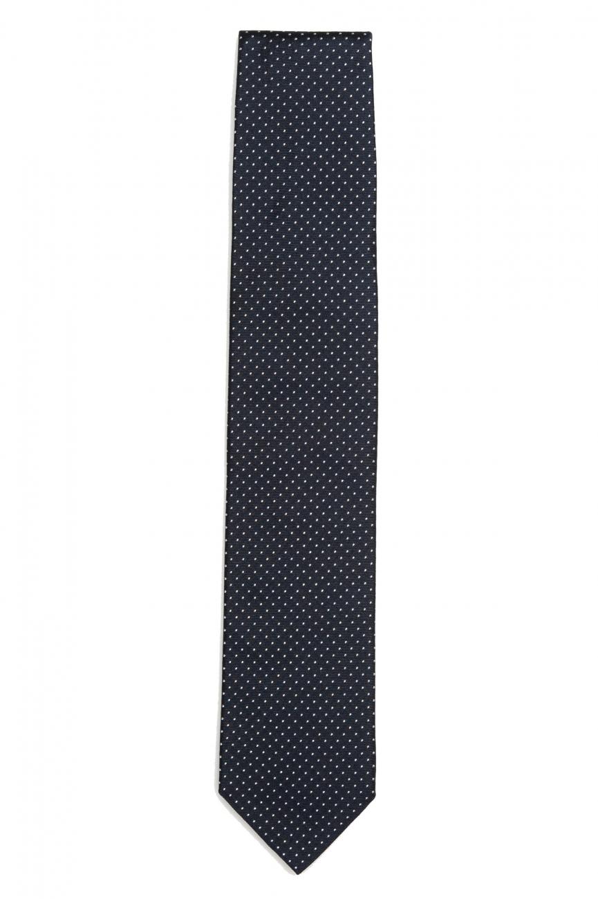 SBU 01575_2021SS Classic handmade pointed tie in silk 01