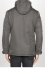 SBU 00902 Technical waterproof padded short parka jacket grey 04