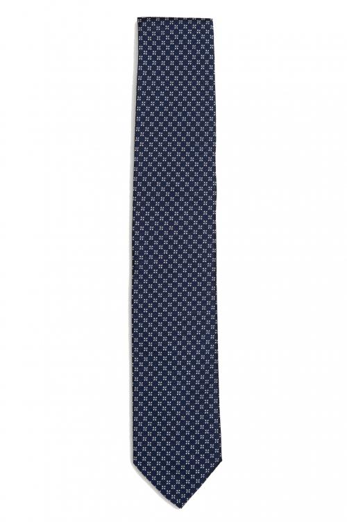 SBU 01580_2021SS Classic handmade pointed tie in silk 01