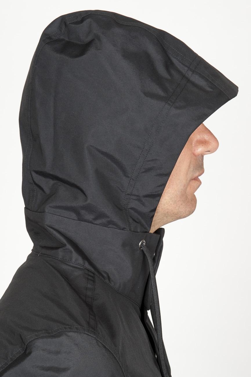 Veste noir capuche