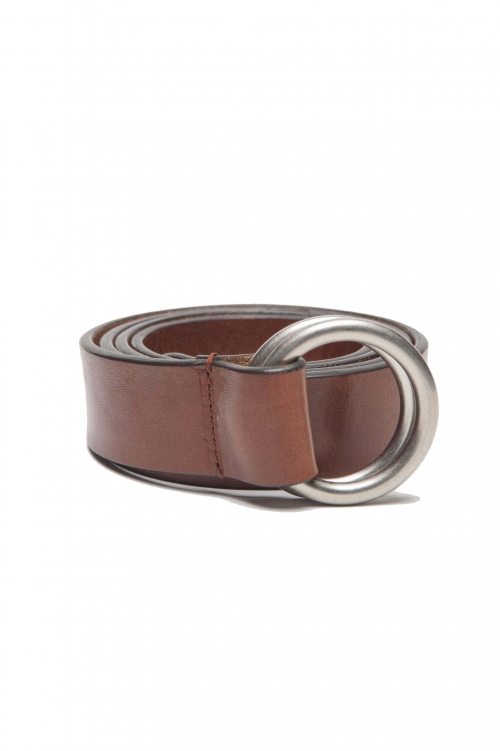 SBU 03024_2021SS Iconic natural leather 1.2 inches belt 01