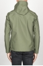 SBU 00904 Technical waterproof hooded windbreaker jacket green 04
