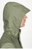 SBU 00904 Chaqueta cortavientos verde impermeable con capucha 05