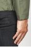 SBU 00904 Chaqueta cortavientos verde impermeable con capucha 06