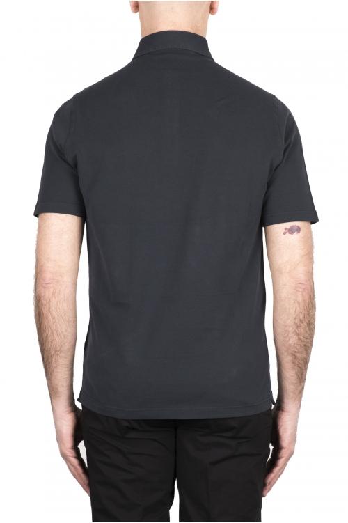 SBU 03275_2021SS 半袖グレーのピケポロシャツ 01