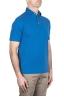 SBU 03276_2021SS Short sleeve light blue pique polo shirt  02